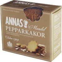Печенье имбирное с миндалем Annas Mandel Pepparkakor 300гр