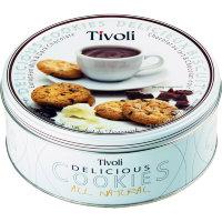 Печенье Tivoli с молочным и тёмным шоколадом 150гр