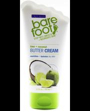 Крем для ног лайм и кокос Freeman Bare Foot Butter Cream 125мл