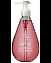 Жидкое мыло для рук розовый грейпфрут Method Pink Grapefruit nestesaippua 350мл