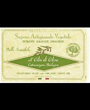 Мыло с оливковым маслом Mediterraneo Palasaippua Olive Oil 150гр
