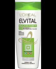 Мультивитаминный шампунь 2 в 1  L'Oréal Paris Elvital 250мл