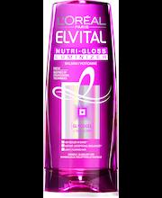 """Бальзам-ополаскиватель """"Питание и блеск Кристалл"""" L'Oréal Paris Nutri-gloss 200мл"""