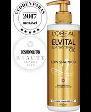 Шампунь без сульфатов для ломких волос L'Oréal Paris Extraordinary Oil Low 400мл