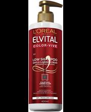 Шампунь без сульфатов для окрашенных волос  L'Oréal Paris Extraordinary low 400мл