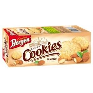 Печенье Bergen Cookies миндальное 135гр