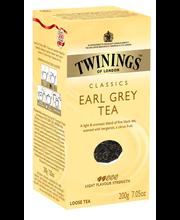 Чай черный листовой Twinings Earl Grey tea 200гр