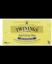 Чай черный без кофеина Twinings Earl Grey tea 25пак.