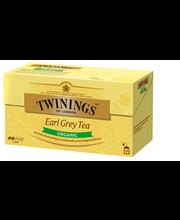 Чай черный Twinings Earl Grey tea органический 25пак.