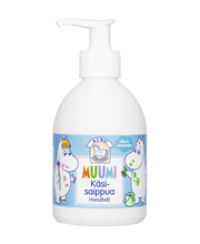 Детское гипоаллергенное мыло для рук Ainu Muumi käsisaippua 300мл