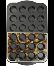 Противень для мини маффинов с антипригарным покрытием, 24 Формы
