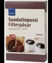 Фильтры для заваривания кофе Rainbow Suodatinpussi №4 100шт