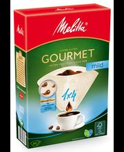 Фильтры для заваривания кофе Melitta Gourmet Mild 1х4/80 шт.