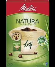 Фильтры для заваривания кофе Melitta Natura  1х4/80шт.