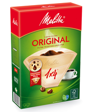 Фильтры для заваривания кофе Melitta Original Brown 1x4 / 80шт.