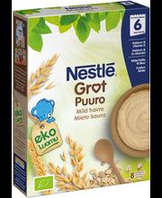 Каша органическая овсяная Nestlé  Luomu mieto kaura puurojauhe (с 6 месяцев) 240гр