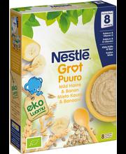 Каша органическая овсяная с бананом Nestlé  Luomu kaura ja banaani puurojauhe(с 8 месяцев) 240гр