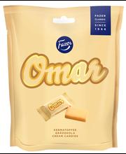Сливочные конфеты FAZER Omar kermakaramelli 220гр