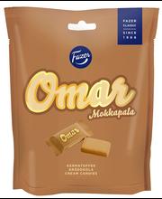Сливочные конфеты с ароматом кофе FAZER Omar kermatoffee 220гр