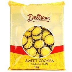 Печенье Sweet Cookies в шоколаде с ванильной начинкой 1кг