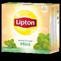 Чай травяной Lipton Herbal infusion mint (мята) 100пак.