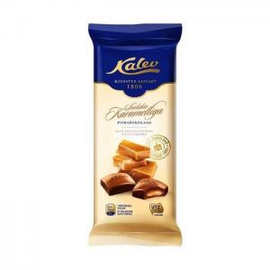 Молочный шоколад с жидкой начинкой из соленой карамели Kalev 100гр