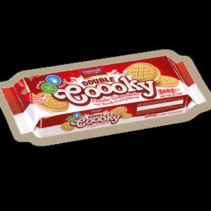 Печенье с ванильной начинкой, без глютена Coppenrath Double Coooky Vanille 300гр