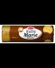 "Печенье ""Мария"" в шоколаде Kantolan Kulta Marie Maitosuklaa 185гр"