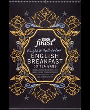 Чай черный Tesco Finest english breakfast tee 50пак.