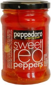 Мини-паприка фаршированная свежим сыром Peppadoro minipaprika 250/140гр