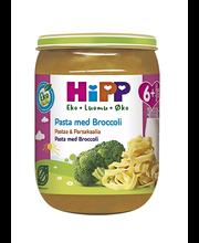 Детское питание HiPP Luomu Pasta & Broccoli (макароны, брокколи) 6+ мес. 190гр
