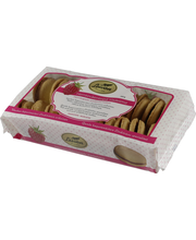 Печенье песочное с малиновой начинкой Leivon Herrasväenleipä vadelma 300гр