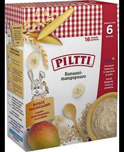 Каша Piltti овсяная, банан-манго (с 6 месяцев) 480гр