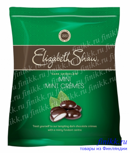 Мятные монетки в темном шоколаде Elizabeth Shaw Mini Mint Creme Bags 140гр