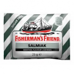 Леденцы от укачивания с лакрицей, без сахара Fisherman's Friend Salmiak sokeriton 25гр